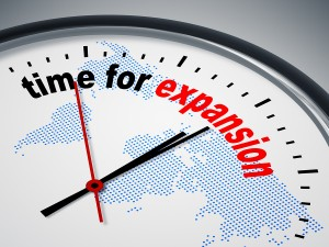 Time for global expansion clock